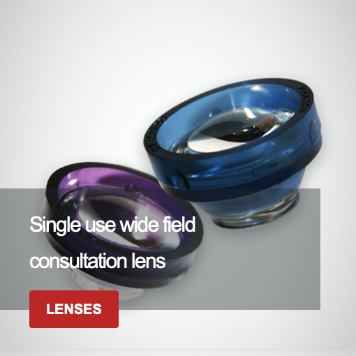 Single Use Wide Field Consultation Lens