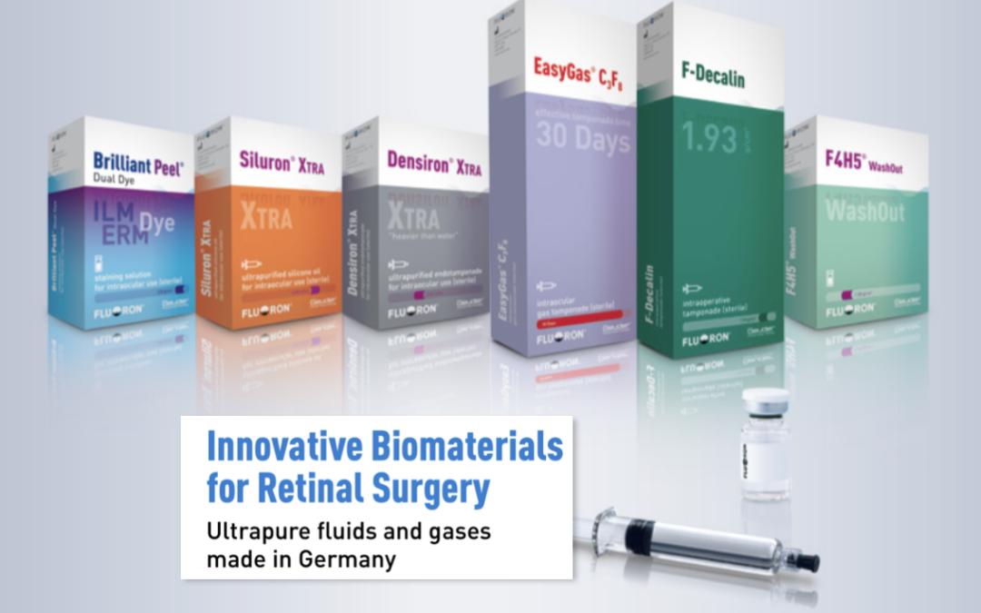 Innovative Biomaterials for Retinal Surgery